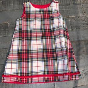 Ralph Lauren Reversible Shift Dress Plaid/Corduroy